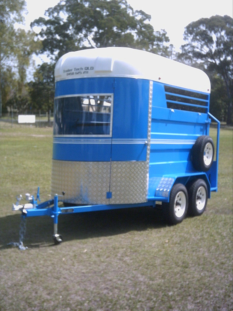 2 Horse Float Trailer Tech Qld